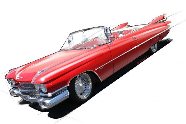 Cadillac Rendering