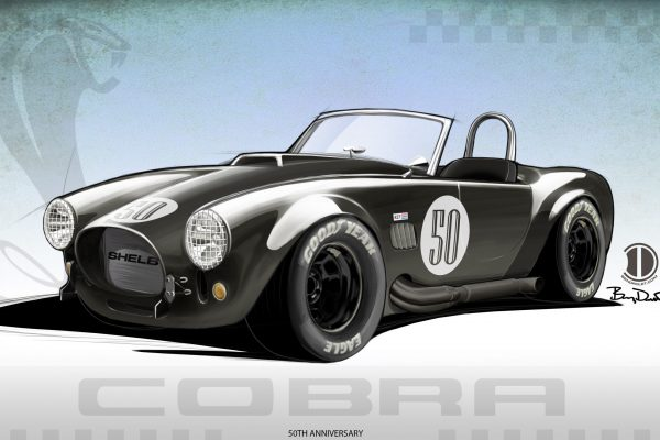 Shelby 50th Anniversary Cobra