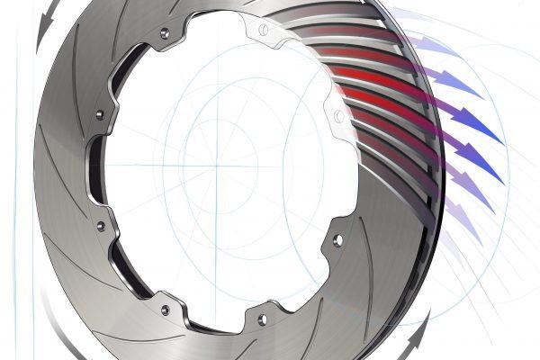 GT-R Rotor Cutaway Illustration