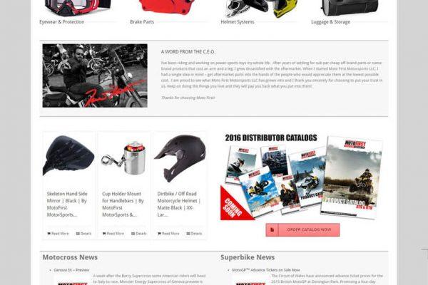MotoFirst Website